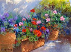 Maria Serafina Tribunella, 1955 | Tuscan Garden | Tutt'Art@ | Pittura * Scultura * Poesia * Musica |