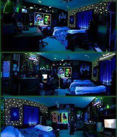 Dope Rooms On Pinterest Black Light Room Black Lights