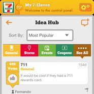 7-eleven uses app to get customer feedback on coupons etc