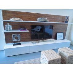 Modern Dollhouse Furniture | M112 PODS | Soho Entertainment Unit by Paris Renfroe Design