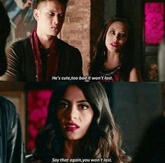Izzy: the captain of the Malec ship | Shadowhunters