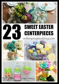 23 sweet & seasonal Easter centerpieces