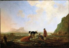 Cuyp, Aelbert - Herdsmen with Cows -