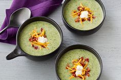 Cream of broccoli soup? Yes, please! Potato soup? Sure! Bacon soup? Whoa! Put them all together and you've got a new favorite for your recipe box.