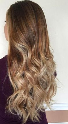 My fall time hair color - LadyStyle