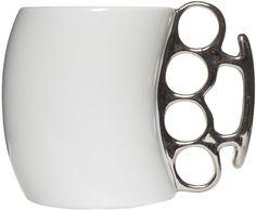 BRASS KNUCKLES COFFEE MUG - Housewares