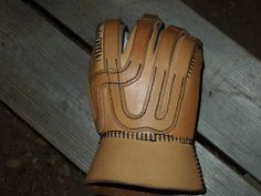Handmade glove. With links to pattern