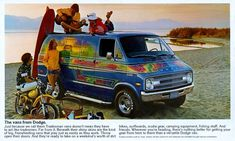 Classic Custom Vans | Like the rest of the van, the new instrument panel was much more car ...