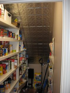 Pantry Remodel | Custom built Pantry - combined an under sta… | Flickr