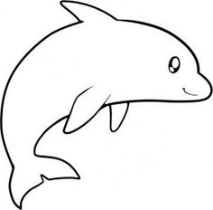 how to draw a dolphin for kids step 7 - Sketch For Kids