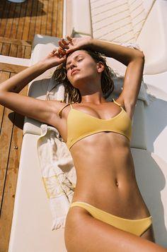 f284adaadfd80 L*Space Summer 2019 Summer Love Plaid Daisy Bikini Top