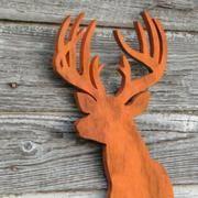Deer Head Sign Modern Home...