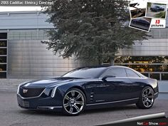 Cadillac Evocative concept car, maybe next Eldo replacement.  Saving for one.