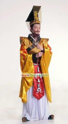chinese emperor costume | Category: Traditional Chinese Dance Costumes, Hanfu, Ancient Chinese ...