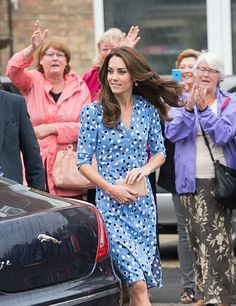 Catherine, Duchess of Cambridge visits Stewards Academy with HeadsTogether on September 16, 2016 in Harlow, England