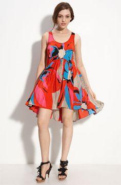Leifsdottir 'Midsummer's Bloom' Dress. I adore this fabric.