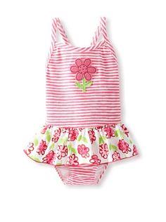 59% OFF Sweet Potatoes Baby Pinky Posie Ruffle Suit (Pink) #apparel #Kids