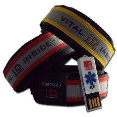 Sports ID Wristbands Ideal for Runners and Cyclists Id Tag, Medical Conditions, Horse Riding, Jogging, Allergies, Bands, Ice, Unisex, Cyclists