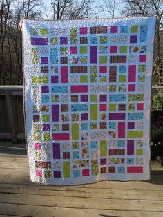 Squares and Rectangles Quilt