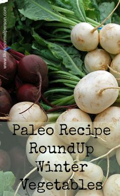 Paleo Recipe RoundUp Winter Veggies