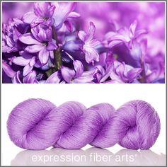Expression Fiber Arts, Inc. - ENCHANTED HYACINTH - 'SOCKLOVE' Limited Edition SOCK YARN, $24.00 (http://www.expressionfiberarts.com/products/enchanted-hyacinth-socklove-limited-edition-sock-yarn.html)