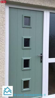 Design your dream Endurance door today with our online door designer tool: Doors, Outdoor Decor, Tall Cabinet Storage, Stylish Doors, Green Colors, Modern Front Door, Modern, Traditional Style Homes, Homeowner