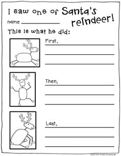 Christmas Activities Reindeer Edition. Reindeer activities for the Christmas season. Craftivity included. {Free download.}