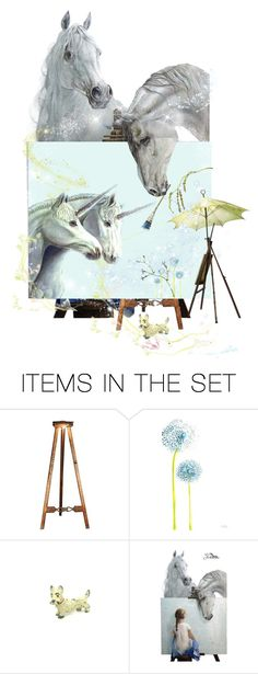 """""""♥ Paint Me A Picture & Pick The Magic Item"""" by catfabricsandbuttons ❤ liked on Polyvore featuring art"""