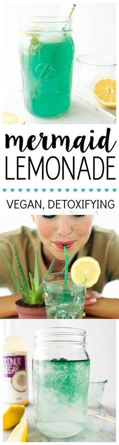 Mermaid Lemonade Detox