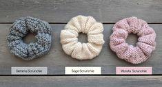 Knitting Patterns Free, Free Knitting, Crochet Patterns, Crochet Hair Accessories, Crochet Hair Styles, Small Knitting Projects, Crochet Projects, Knit Or Crochet, Crochet Gifts