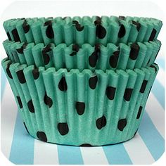 Crystal Cattle: Turquoise Thursday: Turquoise Cupcake Liners