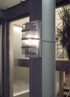 Boden Galvanized Wall Light by Norlys @peterreidlighting #outdoorwalllight