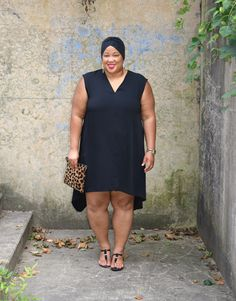 1fc3604a779 Black Rachel Roy Tunic Dress + Life Lessons at 31