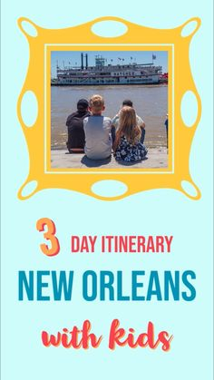 Are you planning a trip to New Orleans with kids? Check out this post for a detailed New Orleans 3 day itinerary. Plan your long weekend and customize to your family travel preferences. New Orleans Vacation, New Orleans Hotels, Visit New Orleans, New Orleans Travel, Travel With Kids, Family Travel, New Orleans With Kids, Vacation Trips, Vacation Style