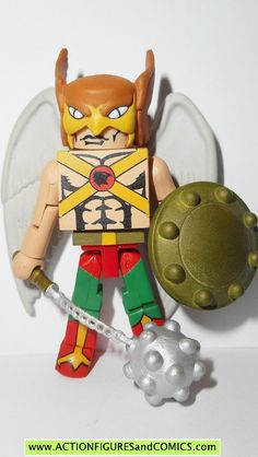 Art Asylum toys action figures for sale to buy MINIMATES DC universe series 2007 HAWKMAN 100% COMPLETE Condition: Excellent. nice paint, nice joints. nothing broken, damaged, or missing. Figure size: