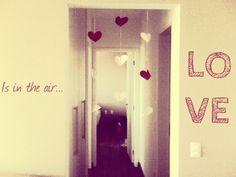 O amor está no ar!