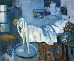 The Blue Room, 1901, Picasso