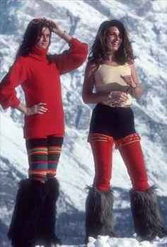Slim Aarons, Winter Wear, Cortina d'Ampezzo, 1976.
