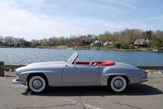 1959 Mercedes-Benz 190SL Convertible. Exterior: Silver, Interior: Red. Source: http://www.hemmings.com/classifieds/dealer/mercedes-benz/190sl/1643741.html. For all your Mercedes Benz 190SL restoration needs please visit us at http://www.bruceadams190sl.com