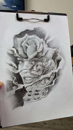 drawing - New Tattoo Models Drug Tattoos, Funny Tattoos, Sexy Tattoos, Sleeve Tattoos, Sketch Tattoo Design, Tattoo Sketches, Tattoo Drawings, Tattoo Designs, Geisha