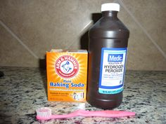 Clean Grout - I just tried this ( peroxide alone) worked great)