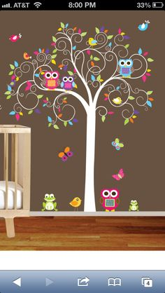 ♥ would love to havr something like this on madds wall