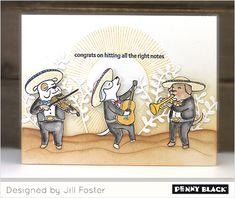 Penny Black Cards, Penny Black Stamps, Dog Cards, The Fosters, Stamping, Blog, Instagram, Design, Paper Crafts