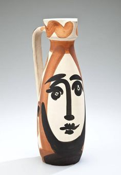 Pablo Picasso - Face Turned Pitcher, 1955.