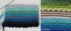 Crochet Bag Pattern and Broomstick Crochet Tutorial | aboutGoodness.com