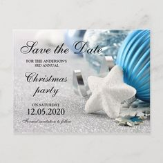Winter And Holiday Party Save The Date Announcement Postcard #christmas #party #save #the #date #AnnouncementPostcard Save The Date Invitations, Save The Date Postcards, Save The Date Magnets, Save The Date Cards, Wedding Invitations, Christmas Save The Date, Winter Christmas, Rustic Save The Dates, Wedding Save The Dates