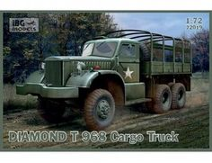 1/72 US Diamond T 968 Cargo Truck