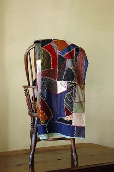 Who doesn't love a crazy quilt?