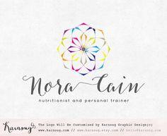 Mandala Logo Yoga Logo Coaching Logo Nutritionist Logo by karnoug