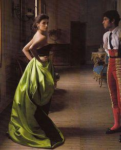 Penelope Cruz by Annie Leibovitz for Vogue US